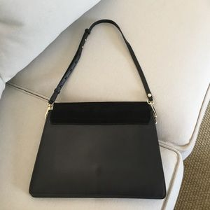 Chloe Bags - FAYE by CHLOE black leather and suede size medium